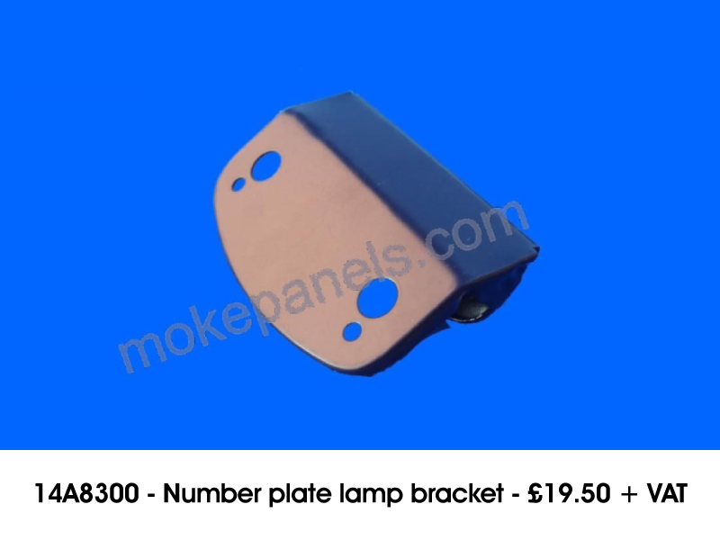 14A8300 - NUMBER PLATE LAMP BRACKET