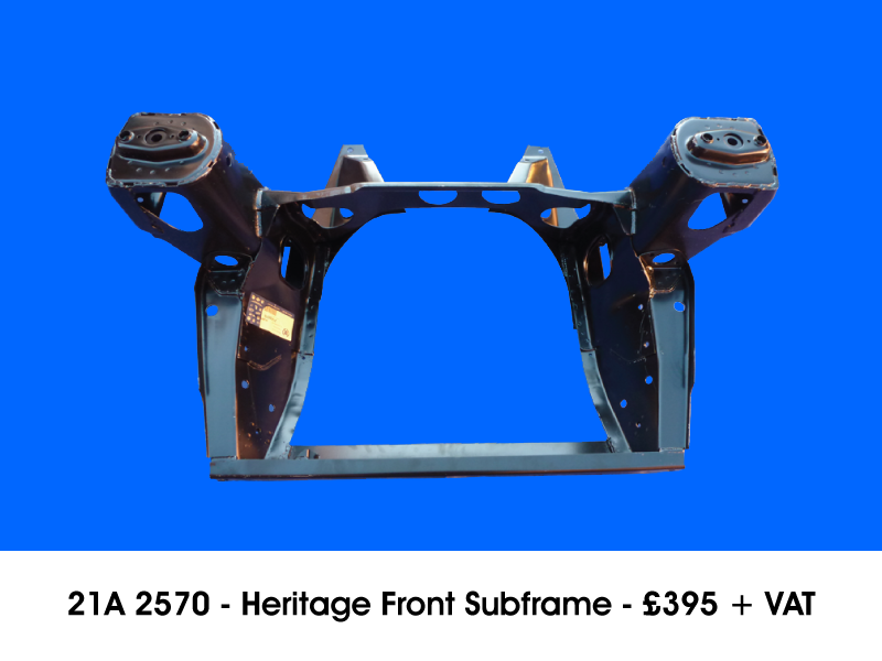 21A 2570 - HERITAGE FRONT SUBFRAME