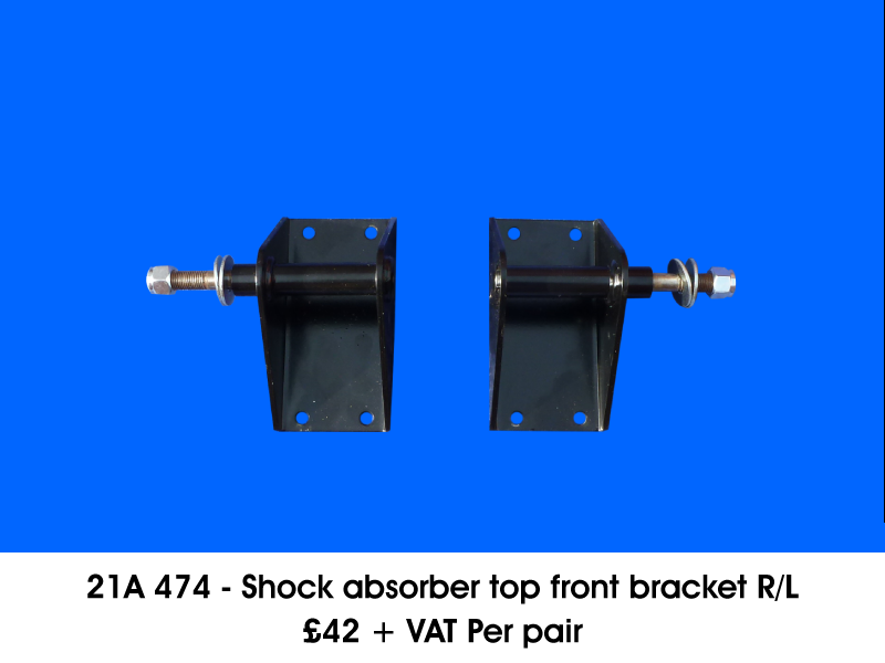 21A 474 - SHOCK ABSORBER TOP FRONT BRACKET RIGHT/LEFT