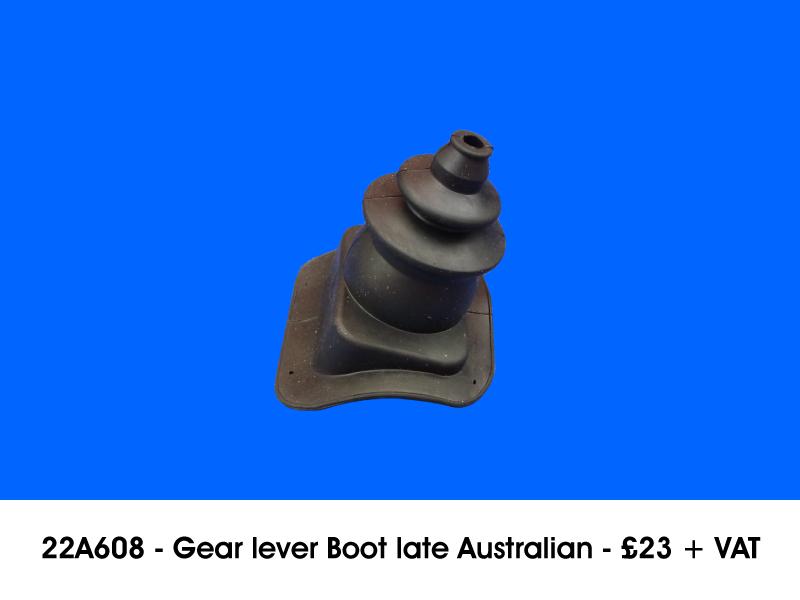 22A608 - GEAR LEVER BOOT LATE AUSTRALIAN