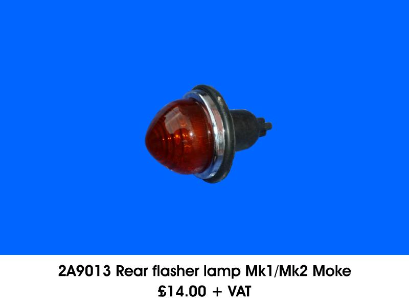 2A9013 REAR FLASHER LAMP MK1/MK2 MOKE