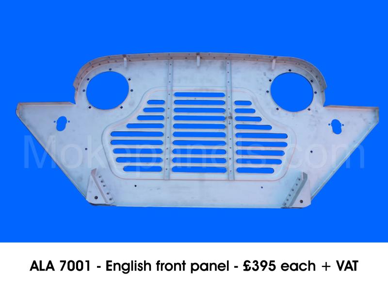 ALA 7001 - ENGLISH FRONT PANEL