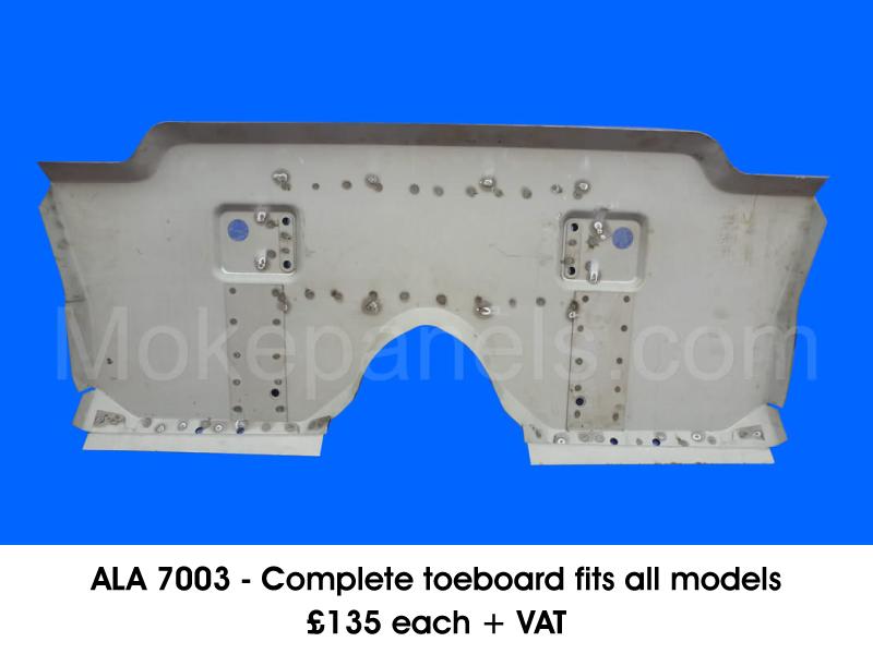 ALA 7003 - COMPLETE TOEBOARD FITS ALL MODELS