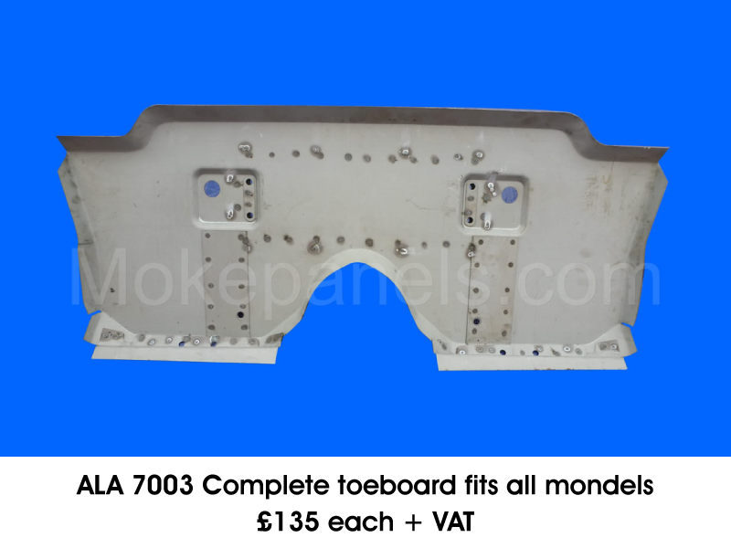 ALA 7003 COMPLETE TOEBOARD FITS ALL MONDELS