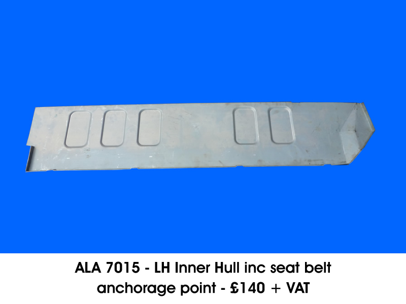 ALA 7015 - L/H INNER HULL INC SEAT BELT ANCHORAGE POINT