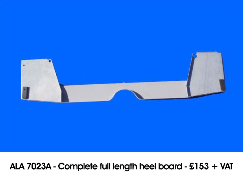 ALA 7023A - COMPLETE FULL LENGTH HEEL BOARD