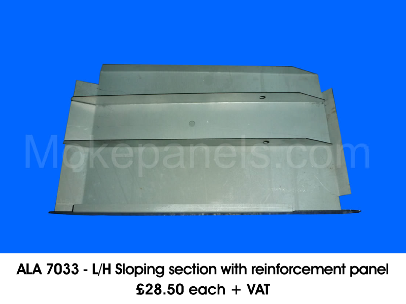 ALA 7033 - L/H SLOPING SECTION WITH REINFORCEMENT PANEL