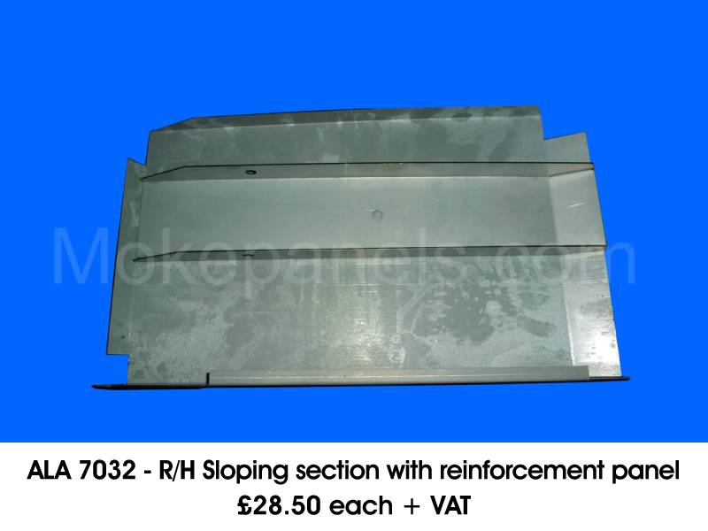 ALA 7033 - R/H SLOPING SECTION WITH REINFORCEMENT PANEL
