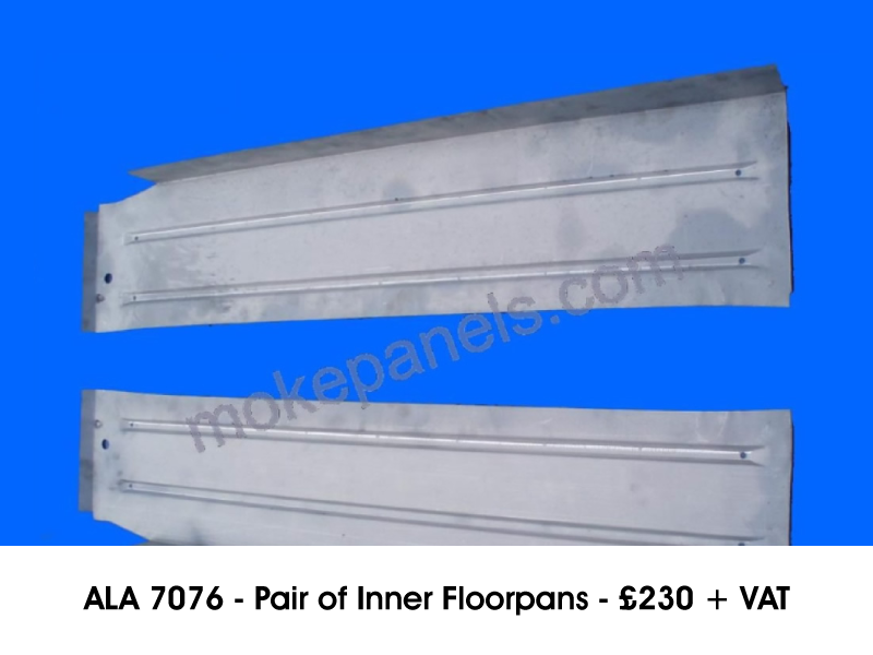 ALA 7076 - PAIR OF INNER FLOORPANS