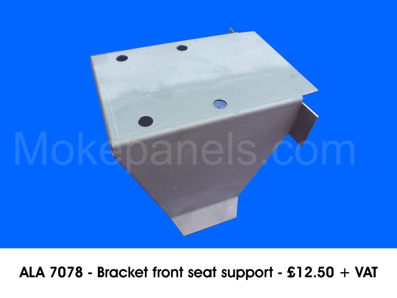 ALA 7078 - BRACKET FRONT SEAT SUPPORT