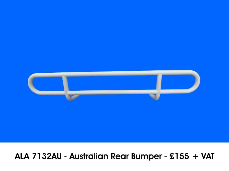ALA 7132AU - AUSTRALIAN REAR BUMPER
