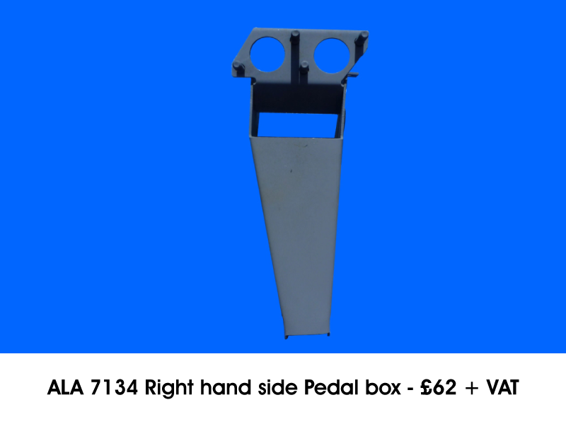 ALA 7134 RIGHT HAND SIDE PEDAL BOX