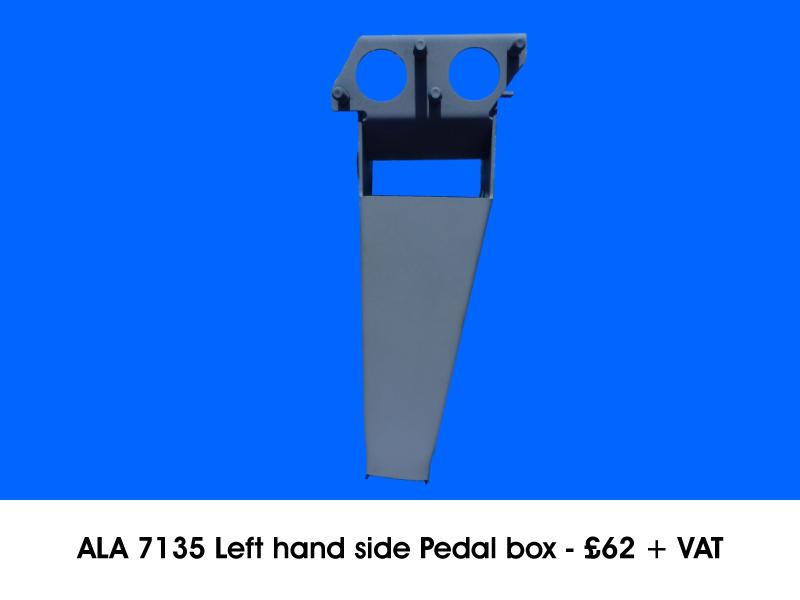 ALA 7135 LEFT HAND SIDE PEDAL BOX
