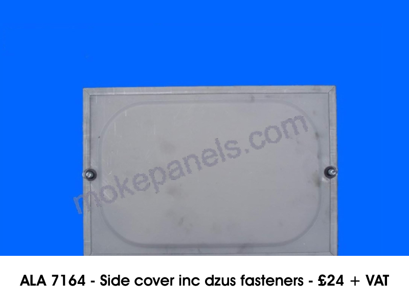 ALA 7164 - SIDE COVER INC DZUS FASTENERS