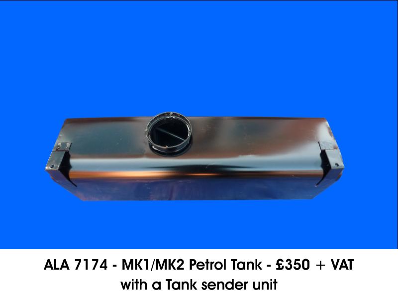 ALA 7174 - MK1/MK2 PETROL TANK WITH A TANK SENDER UNIT