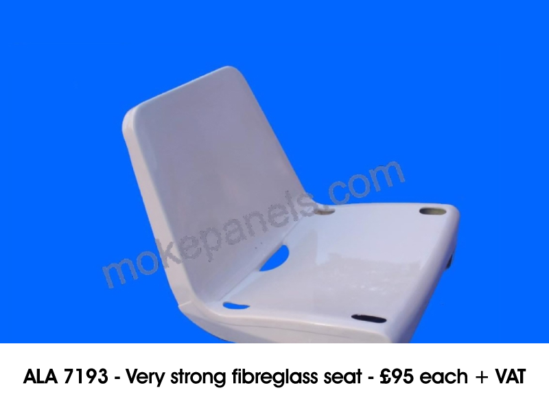 ALA 7193 - VERY STRONG FIBREGLASS SEAT