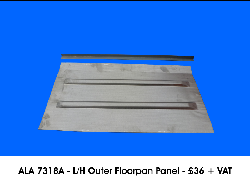 ALA 7318A - L/H OUTER FLOORPAN PANEL
