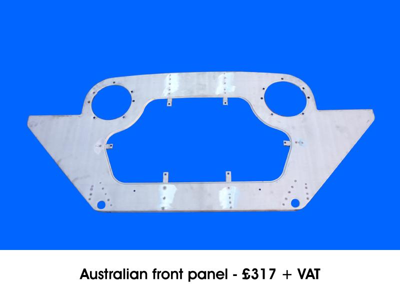 AUSTRALIAN FRONT PANEL