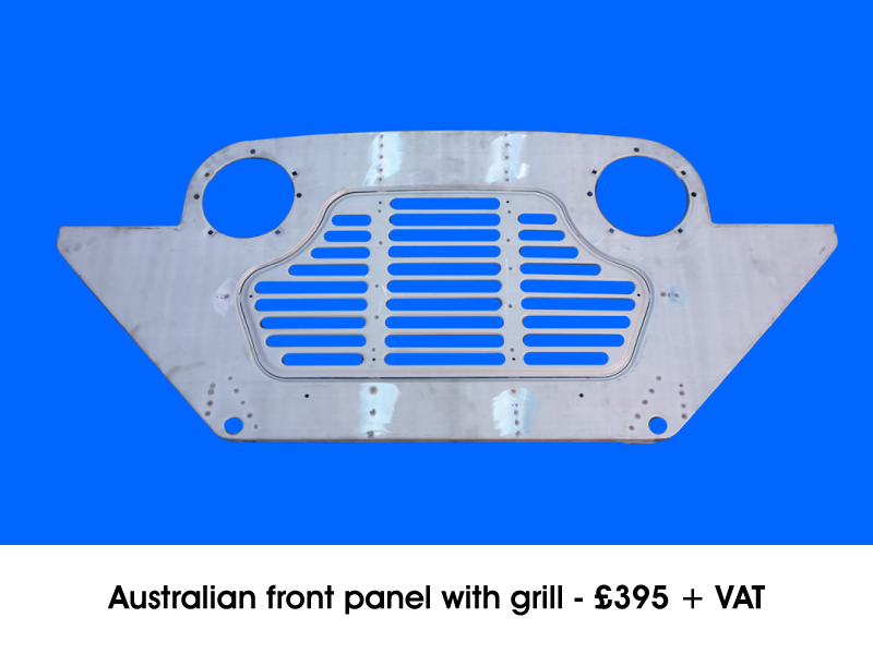AUSTRALIAN FRONT PANEL WITH GRILL