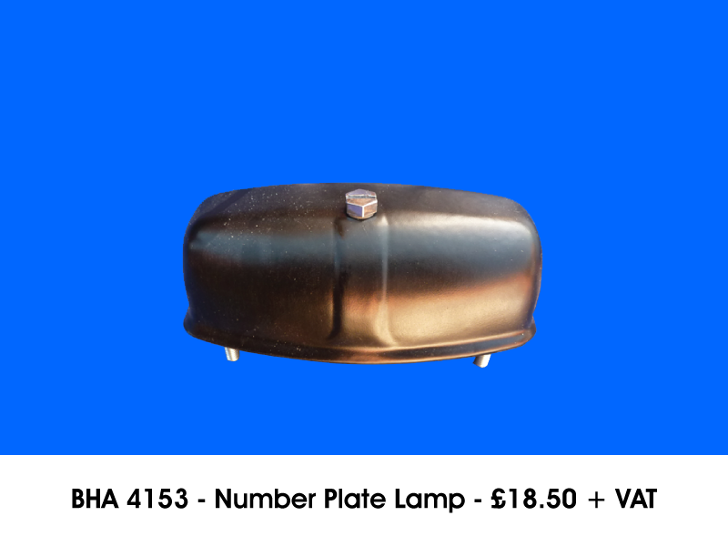 BHA 4153 - NUMBER PLATE LAMP
