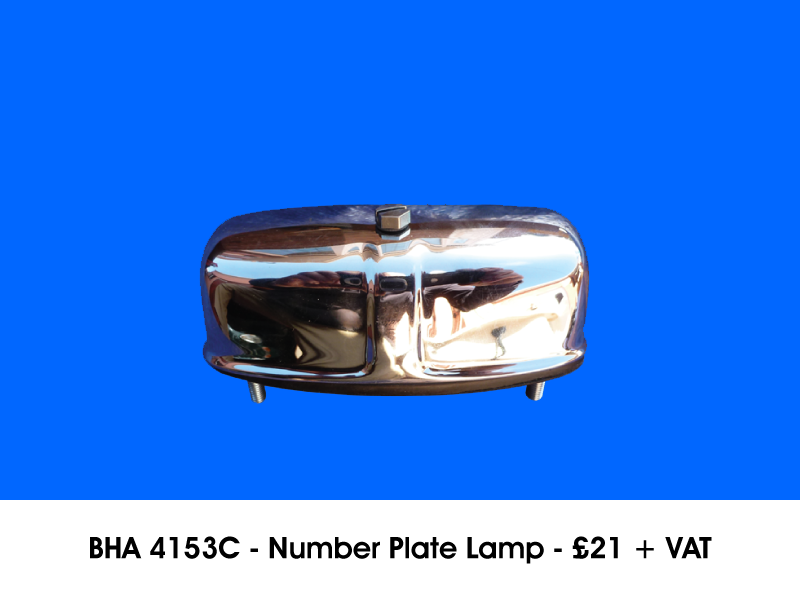 BHA 4153C - NUMBER PLATE LAMP