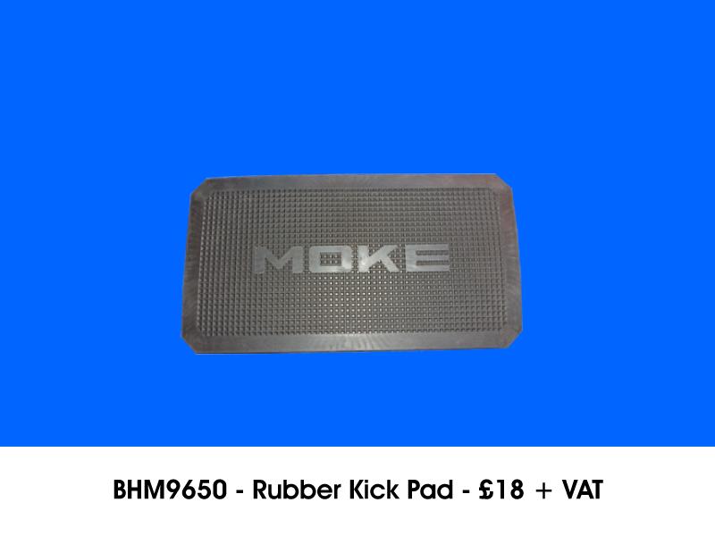 BHM9650 - RUBBER KICK PAD