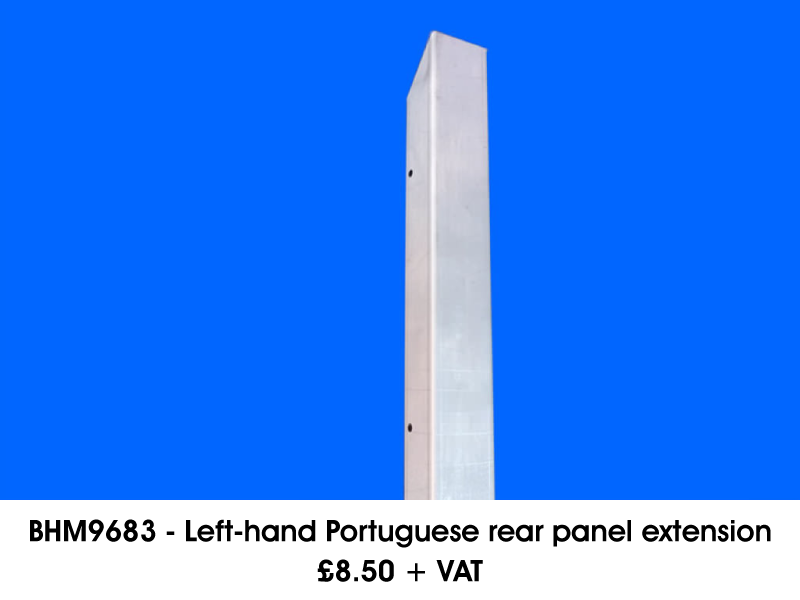 BHM9683 - LEFT-HAND PORTUGUESE REAR PANEL EXTENSION