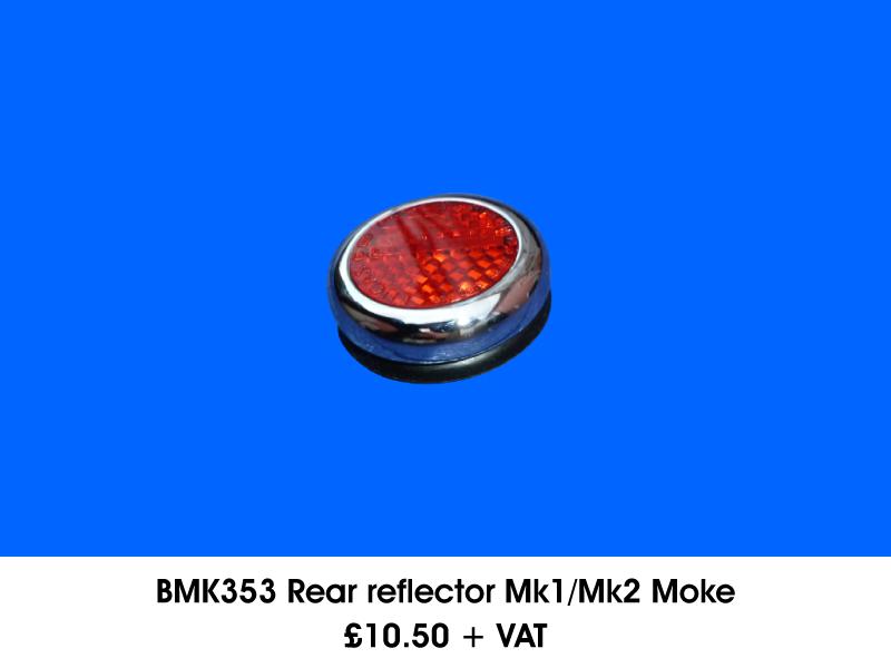 BMK353 REAR REFLECTOR MK1/MK2 MOKE