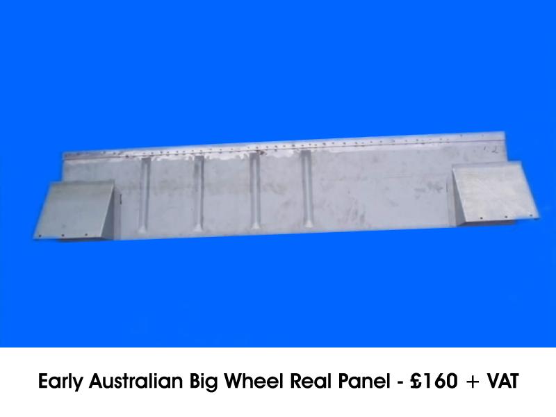 EARLY AUSTRALIAN BIG WHEEL REAL PANEL