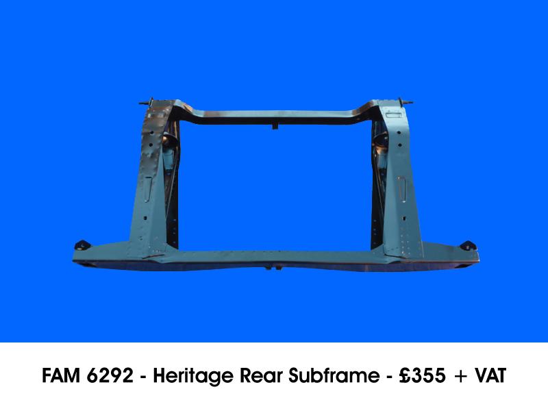FAM 6292 - HERITAGE REAR SUBFRAME