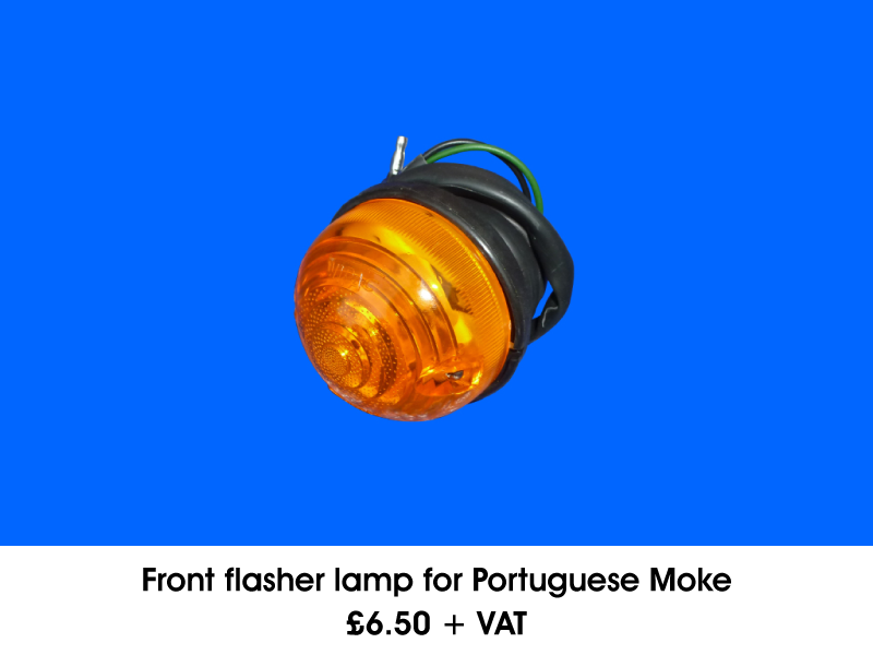 FRONT FLASHER LAMP FOR PORTUGUESE MOKE