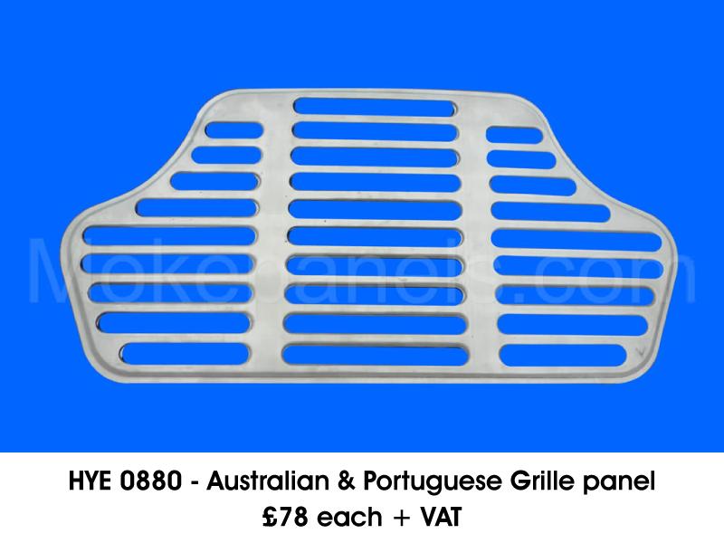 HYE 0880 - AUSTRALIAN & PORTUGUESE GRILLE PANEL