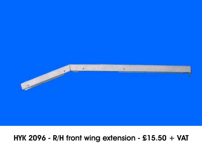 HYK 2096 - R/H FRONT WING EXTENSION