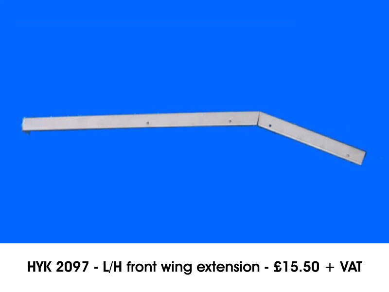 HYK 2097 - L/H FRONT WING EXTENSION