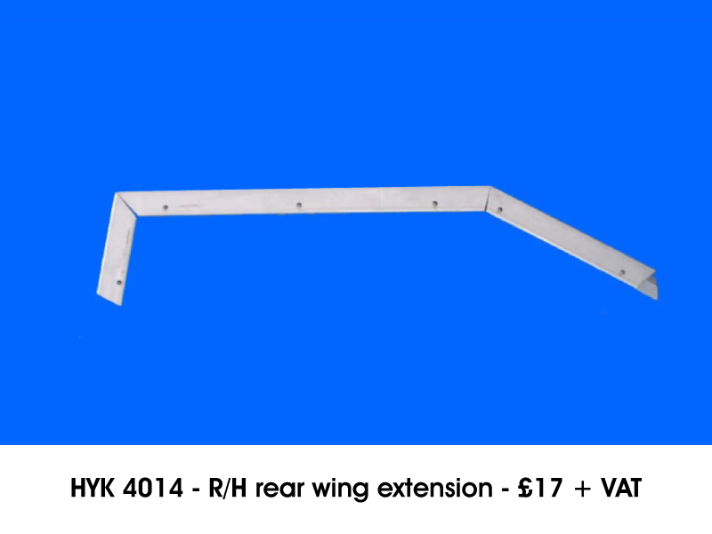 HYK 4014 - R/H REAR WING EXTENSION
