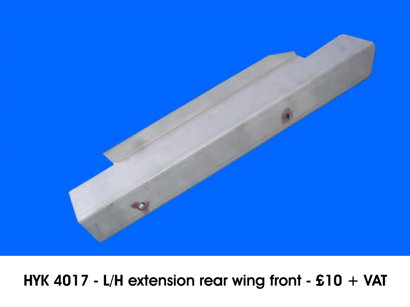 HYK 4017 - L/H EXTENSION REAR WING FRONT