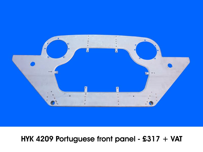 HYK 4209 PORTUGUESE FRONT PANEL
