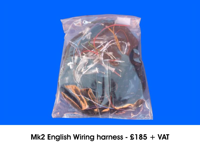 MK2 ENGLISH WIRING HARNESS