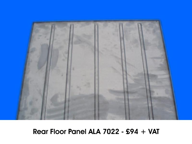 REAR FLOOR PANEL ALA 7022