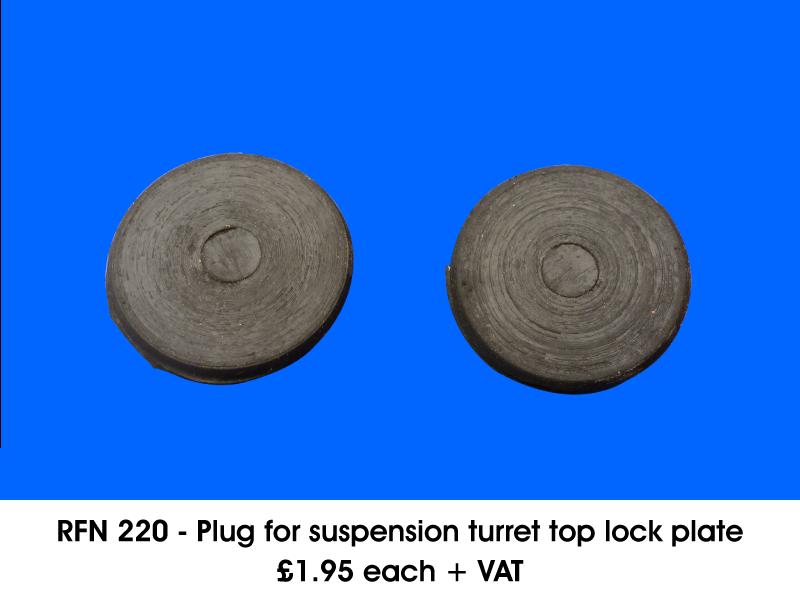 RFN 220 - PLUG FOR SUSPENSION TURRET TOP LOCK PLATE