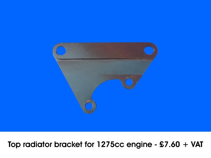 TOP RADIATOR BRACKET FOR 1275CC ENGINE