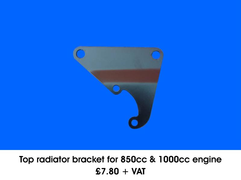 TOP RADIATOR BRACKET FOR 850CC & 1000CC ENGINE