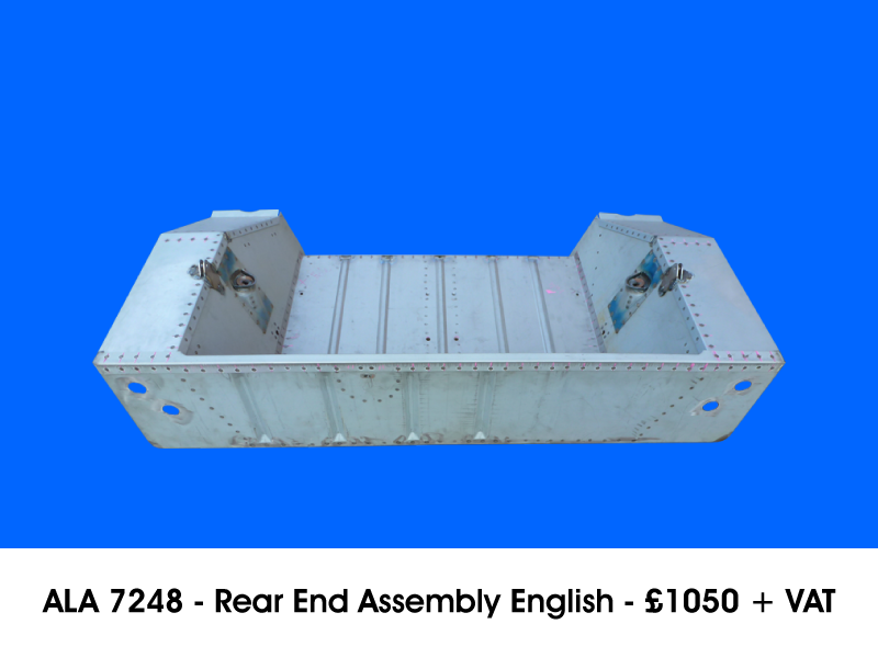 ALA 7248 - REAR END ASSEMBLY ENGLISH