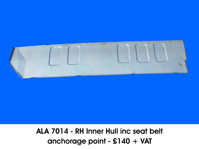 ALA 7014 - R/H INNER HULL INC SEAT BELT ANCHORAGE POINT